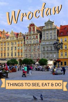 Are you visiting Wroclaw, Poland? Here's a travel guide with some of the best things to see, eat and do in the city. Enjoy your trip! Europe Travel Tips, European Travel, Travel Guides, Places To Travel, Travel Destinations, Places To Visit, Danzig, Germany Poland, Warsaw Poland