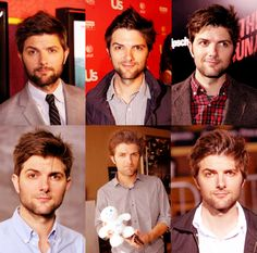 Adam Scott-a great actor and HILARIOUS person