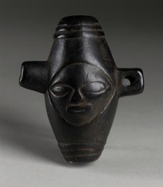 Whistle Africa, Democratic Republic of the Congo, Songye peoples, 20th century Tools and Equipment; musical instruments Wood Length: 4 in. (10.2 cm) Gift of Dr. Matthew McKeeves (AC1998.171.1) African Art
