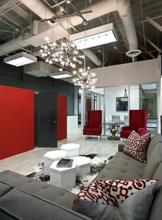 by Orange Coast Interior Design. Check out our amazing Riviera Magazine offices!