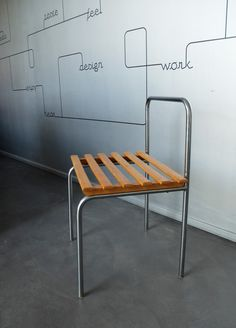 Charlotte Perriand Luggage Rack, Tubular Steel, Les Arcs, France, 1960s - Charlotte Perriand - Charlotte Perriand