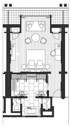 New bedroom design hotel floor plans Ideas Hotel Room Design, New Bedroom Design, Bedroom Layouts, House Layouts, Master Bedroom Plans, Ideas Baños, Hotel Floor Plan, Rm 1, Small Space Interior Design