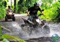 ATV TOURS, Costa Rica. A great way to experience the amazing landscape of Costa Rica is by four-wheel drive quads. Whether you will drive through rainforests, through the countryside or along endless beaches you will have an adventure with great views you will not forget