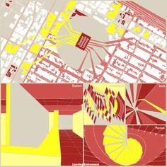Tri-Triptych - Figure Ground Concept Map. Architecture Graphic Design. http://www.mrlnh.com/graphics.html