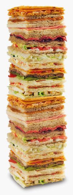 30 Rellenos para Sandwich