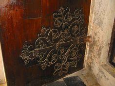 Door Hinge in Anglican Cathedral, Zanzibar, Tanzania