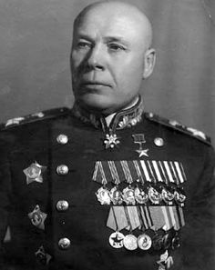 Semyon Konstantinovich Timoshenko (1895-1970), Soviet military commander - When the Germans invaded the Soviet Union in June 1941, Stalin took over the post of Defence Commissar and sent Timoshenko to the Central Front to conduct a fighting retreat from the border to Smolensk.
