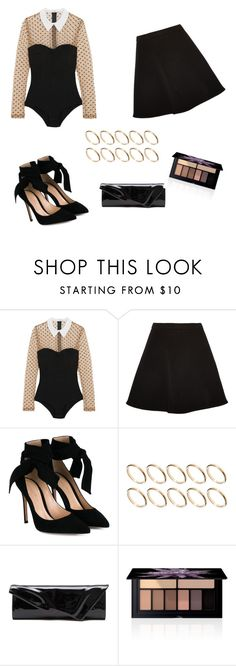 """""""Untitled #204"""" by dariabadea ❤ liked on Polyvore featuring Fleur du Mal, Miu Miu, Gianvito Rossi, ASOS, Christian Louboutin and Smashbox"""