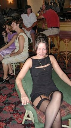 wife tops stocking mature candid