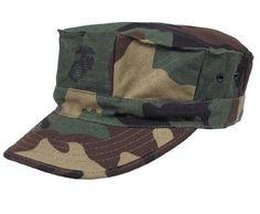 MFH US Cap, USMC, Rip Stop, woodland / mehr Infos auf: www.Guntia-Militaria-Shop.de