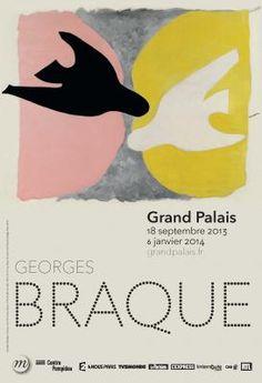18 sept 2013/6 janv 2014.  Le Grand Palais présente la 1ere rétrospective consacrée à Georges Braque (1882-1963), depuis près de 40  ans. Initiateur du cubisme,  il fut l'une des figures d'avant-garde du début du XXe siècle. L'exposition propose un nouveau regard porté sur l'œuvre de l'artiste et une mise en perspective de son travail avec la peinture, la littérature ou la musique de son temps. #braque #grandpalais #expo #peinture #cubisme
