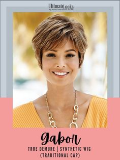 Softly feathered waves are carefully sculpted to lengths that can be worn smooth or full. #hairstyles #hairdo #hairoftheday #styleinspo #styles Blonde Pixie, Short Wavy Pixie, Short Wigs, Girl Short Hair, Short Hair Cuts, Short Sassy Haircuts, Haircuts With Bangs, Short Hairstyles For Women, Pixie Cut Styles