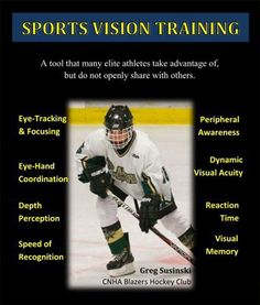 Sports Vision Therapy is a tool many elite athletes take advantage of in order to have a winning edge!