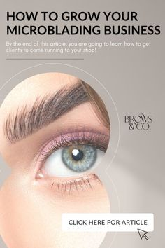 It's not as easy as one might think. Growing your microblading business takes hard work and dedication. We get it, you just graduated from our online Microblading Academy and now you are antsy to find your first few clients. You're excited but also nervous because now you are the one responsible for generating your own income. By the end of this article, you are going to learn how to get clients to come running to your shop! Makeup Inspo, Makeup Tips, Beauty Makeup, Date Night Makeup, How To Get Clients, Run To You, Evening Makeup, Hard Work And Dedication, Anti Aging Skin Care