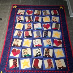 Boot Quilt for Ray