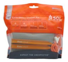 Advanced Survivor » Survive Outdoors Longer® Emergency Shelter Kit Always be prepared to survive an unexpected night out, whether in a drenching rain or snowstorm, with this ultra-light emergency shelter kit you will always be able to stay dry and warm in almost any weather.