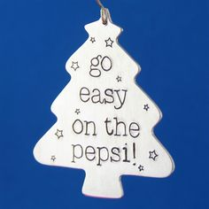 Go Easy on the Pepsi - Home Alone Ornament - Spiffing Jewelry - Fuller Wets the Bed