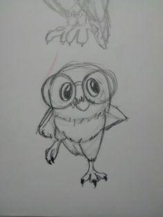 Corujas, owls,  hffur