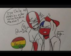 Read 🇲🇽 x 🇺🇸 from the story 💕 Cómics e imágenes CountryHumans 💕 by (Daiana.S) with reads. Dance Baile, Wattpad, Mundo Comic, Hetalia, Reading Lists, Chile, Pikachu, Disney Characters, Fictional Characters