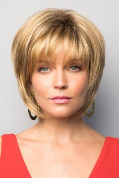 Reese by Noriko Wigs - Hair Styles Bobs For Thin Hair, Short Hairstyles For Thick Hair, Short Hair With Layers, Short Hair Cuts, Curly Hair Styles, Pixie Styles, Pixie Hairstyles, Easy Hairstyles, Volume Hairstyles
