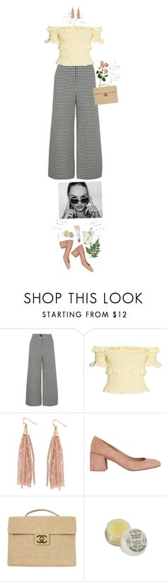 """♡ LEMONADE ♡"" by heartbreakmotel ❤ liked on Polyvore featuring A.W.A.K.E., Humble Chic, Whistles and Chanel"