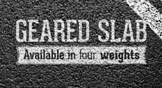 Geared Slab free font