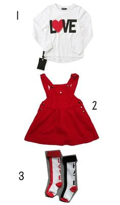 En rouge/Noir/Blanc