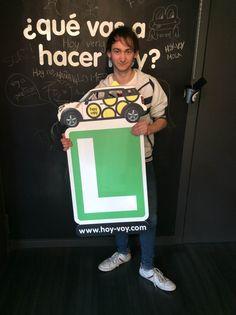 CARLES ÁLVAREZ!!! #hoyvoy #autoescuela #granollers