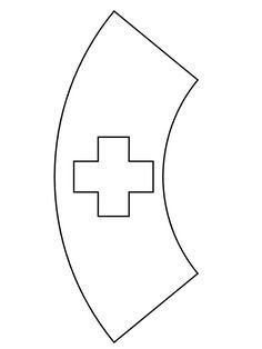 30 Printable Nurse Hat Template In 2020 With Images Hat