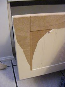 The Complete Guide To Imperfect Homemaking: Decorating. Shows How To Paint  Something That Had Peeling Laminate.