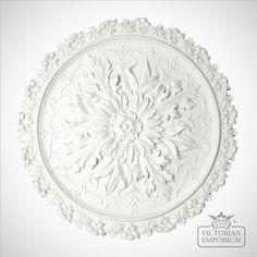 Buy Victorian ceiling rose - Style 6 - diameter, Large Plaster Ceiling Roses - Ceiling Rose in diameter Plank Ceiling, Ceiling Rose, Ceiling Lights, Ceiling Ideas, Plaster Ceiling Design, Plaster Mouldings, Ceiling Texture, Victorian Decor, Victorian Era