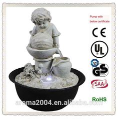 home decoration items resin boy and girl fountain, View boy and girl fountain, aroma Product Details from Xiamen Aroma Trade Co., Limited on Alibaba.com