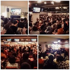 New Life Church, Taipei had capacity crowd. The members who sat at the Overflow Room were amazing! #KongHeeTaiwan