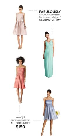 Affordable Dresses from Weddington Way + A Contest!  Read more - http://www.stylemepretty.com/2014/01/04/affordable-dresses-from-weddington-way-a-contest/