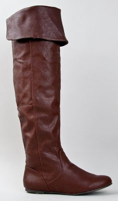 Amazon.com: Qupid PROUD-09 Cuff Over the Knee Thigh High or Knee High Slouchy Flat Boot: Shoes OMG THESE ARE PERFECT!!!!