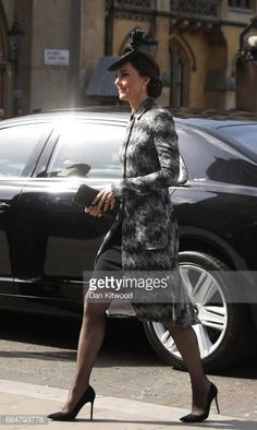Catherine Duchess of Cambridge attends the Service of Hope at Westminster Abbey on April 52017 in London United Kingdom The multifaith Service of...