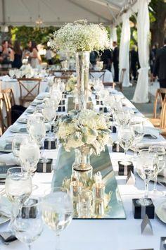 50 eindrucksvolle Tischdekorationen für Ihre Hochzeit: Stilvoll, frisch und modern! Image: 34