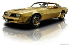 1978 Pontiac Firebird Trans Am Gold Special Edition