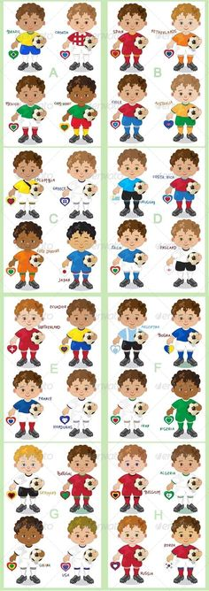 Realistic Graphic DOWNLOAD (.ai, .psd) :: http://sourcecodes.pro/pinterest-itmid-1007849188i.html ... Soccer World ...  brazil, championship, characters, competition, football, graphic, illustration, mascots, nations, players, soccer, teams, vector, world  ... Realistic Photo Graphic Print Obejct Business Web Elements Illustration Design Templates ... DOWNLOAD :: http://sourcecodes.pro/pinterest-itmid-1007849188i.html