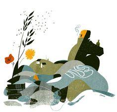 Illustrations by Sanna Mander — AGENT PEKKA