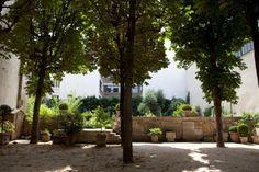 Le jardin du 21 rue des Blancs Manteaux. ©Lola Ertel/Mairie de Paris