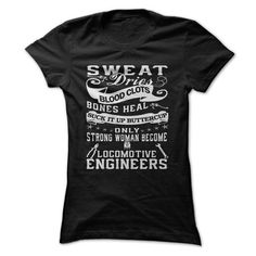 Make this awesome proud Engineer:  Locomotive Engineer Woman as a great gift Shirts T-Shirts for Engineeres
