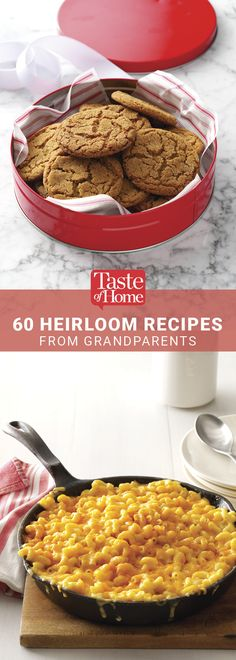 60 Heirloom Recipes from Grandparents from Taste of Home