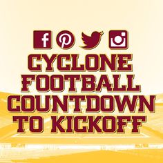 Find out how you can win more prizes by clicking on the picture #CountdowntoKickoff #CycloneFB