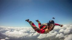 Go on! Keep Dreaming! #skydive #skydiving #freedom