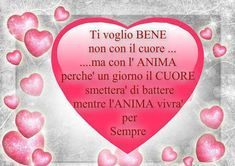Ti Voglio Bene frasi e immagini ~ Il Magico Mondo dei Sogni Emoticon, Love Is All, Funny Images, Good Morning, Feelings, Quotes, Hearts, Creative, Sweet