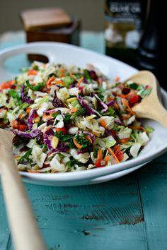 Rainbow Crunch Salad #STARFineFoods