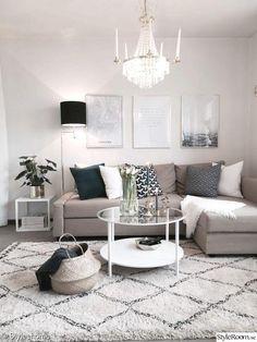 65 Modern Small Living Room Decor Ideas - Decoration for All Small Space Living Room, Living Room Decor Cozy, Small Room Design, Living Room White, Living Room Colors, Living Room Modern, Living Room Interior, Small Spaces, Living Room Designs