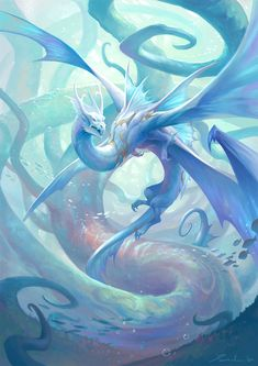 Mythical Creatures Art, Magical Creatures, Fantasy Creatures, Dragons, Fantasy Beasts, Fantasy Art Landscapes, Dragon Artwork, Dragon Pictures, Mystique