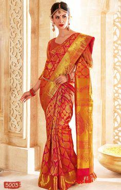 Vivaha Branded Wedding Silk Saree VBBS5003